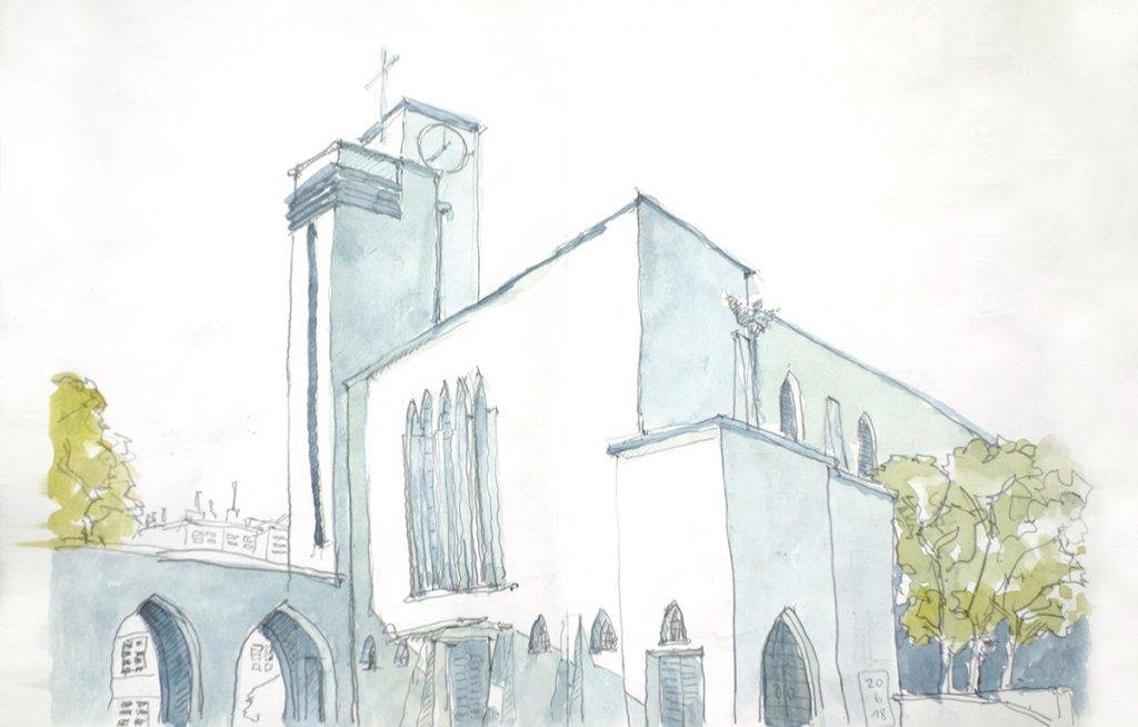 Kirche St. Dreikönigen in Köln-Bickendorf