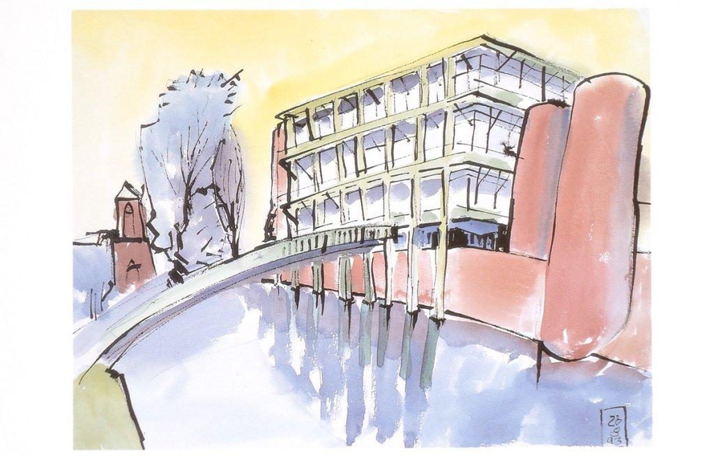 Das Neue Rathaus in Bocholt von Gottfried Böhm