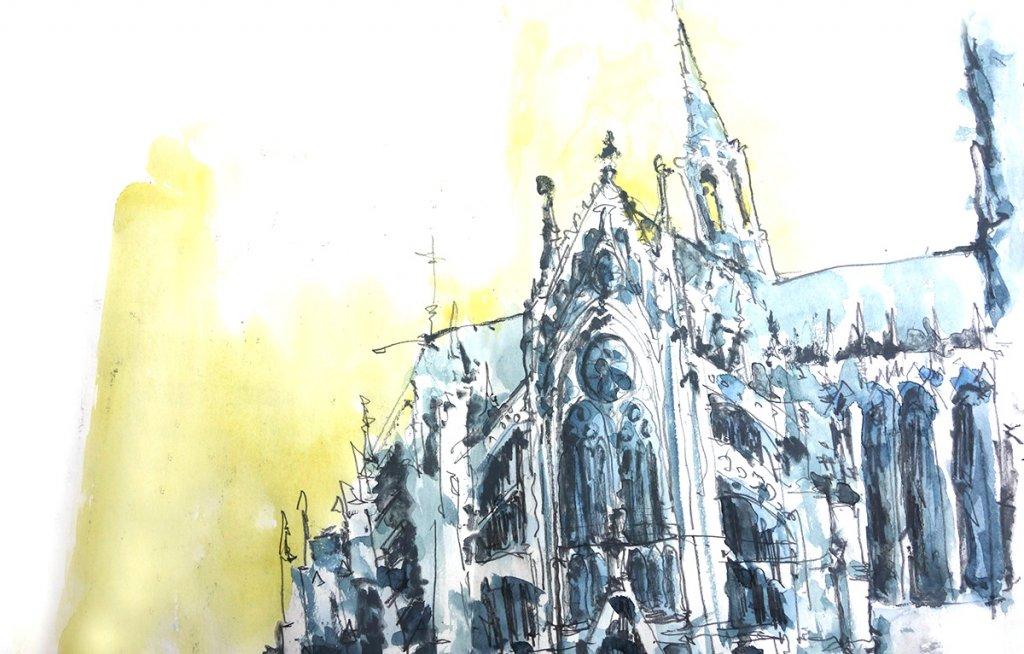 Kölner Dom – Nordseite