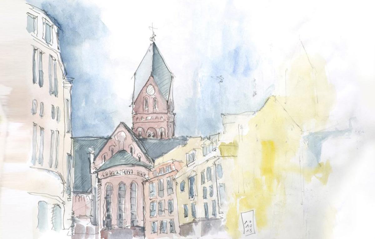 St. Rochus in Köln-Bickendorf