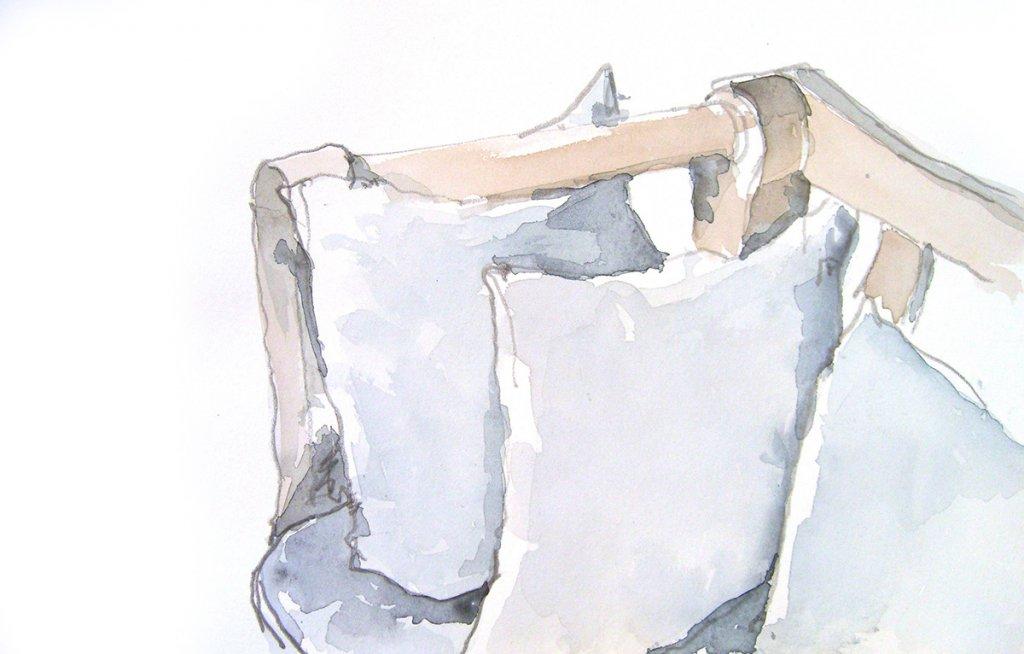 Kissen auf Stuhl